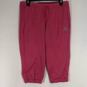 Adidas Pink Workout Shorts Size Medium